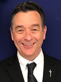 Stephen Pyle, 63, born in Missouri, and a parishioner at St. Bonaventure, Davie.