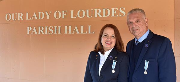 Mercy and Filippo Baglio are leaders in Hospitalité de Miami.