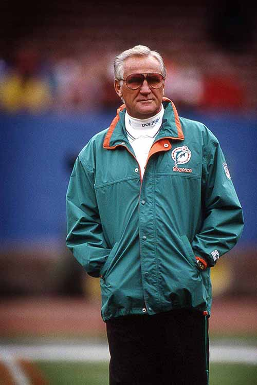 Aside from his professional accomplishments as head coach of the Miami Dolphins, including holding the NFL record for most career wins as a head coach, Don Shula is known for his involvement within the South Florida Catholic community.