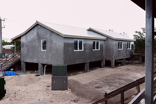 Affordable housing was a problem in the Florida Keys long before the coronavirus pandemic. This file photo shows the construction underway at Catholic Charities' St. Bede's Village in Key West, which is expected to be completed as early as this summer. The St. Bede's facility currently has 10 units of affordable housing with an additional 37 new units in the works.