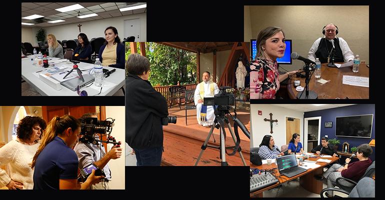 Con motivo de la 54 Jornada Mundial de las Comunicaciones Sociales, la Conferencia de Obispos Católicos de Estados Unidos, el 23 de mayo, publicó en sus redes sociales: El equipo de comunicaciones de @CatólicMiami ha proporcionado una gran cantidad de contenido para los católicos, incluyendo entrevistas en podcast, segmentos de radio en la estación arquidiocesana Radio Paz, y formación profesional para sus reporteros. Más información: http://usccb.org/ccc. #1church1mission.