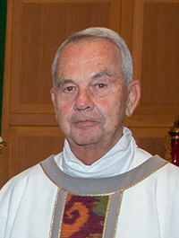Msgr. James Dixon, ordained May 16, 1970
