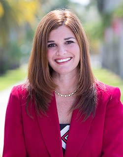 """Barry University is trying a """"flexible learning model,"""" according to Jennifer Boyd-Pugh, its vice president for university administration."""