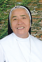 Sister Enith Montero, Dominicans of the Immaculate Conception, marking 50 years of religious profession.