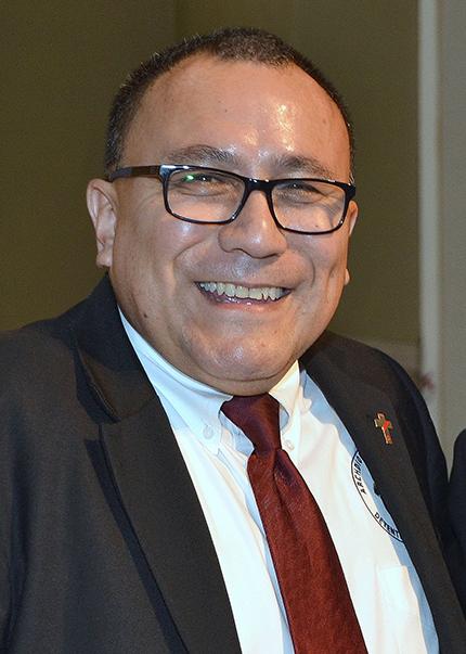El diácono Edgardo Farías dirige el Ministerio de Detención arquidiocesano desde 2006.