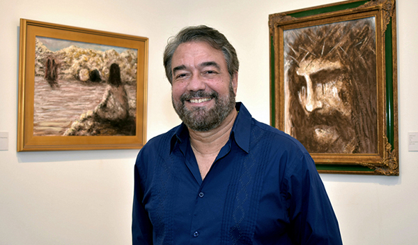 Cesar Garcia says that painting his Conversation with Christ series helped him through his own spiritual crisis.