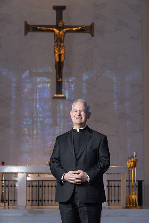 Father Alfredo Hernandez, St. Vincent de Paul Seminary's new rector and president, grew up in West Palm Beach and attended Cardinal Newman High School there. He has taught and served at the seminary since 1997, most recently as academic dean and vice rector.