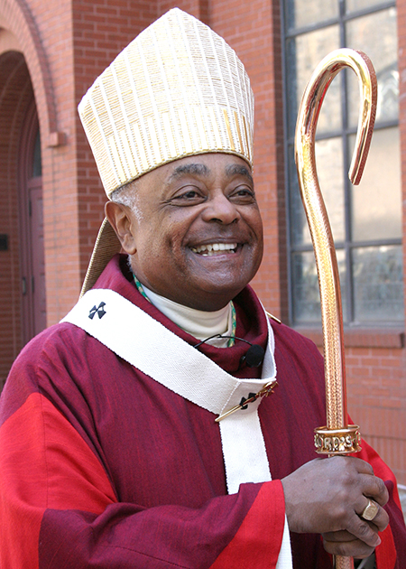 File photo of Cardinal-elect Wilton D. Gregory in January 2013, when he was archbishop of Atlanta.