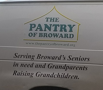 The Pantry of Broward gave a shout out on social media to St. Gregory School for their Thanksgiving food drive, which netted more than $ 2,000 in gift cards alone.