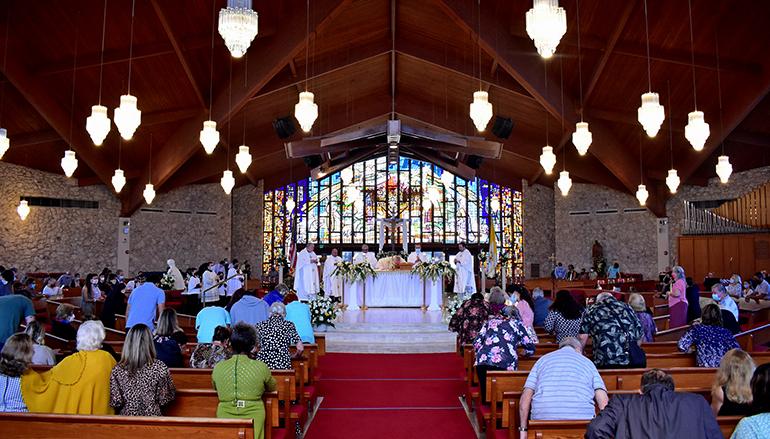 Nativity Church celebrated its 60th anniversary with Mass on Nov. 22, 2020.