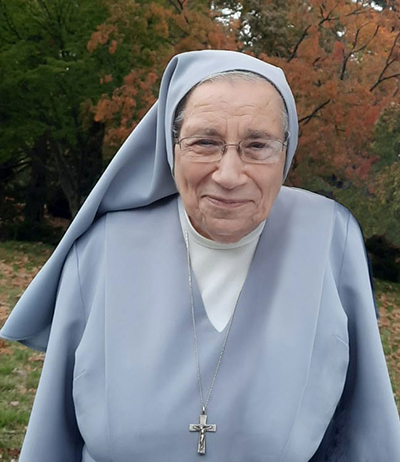 Salesian Sister Yamile Saieh: Born May 1, 1937; professed first vows Aug. 5, 1960; died Feb. 14, 2021. This is one of the last photos taken of her after she moved to the Salesian motherhouse in New Jersey.