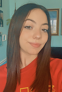 Msgr. Edward Pace High junior Gabriela Cespedes, one of two Lady Spartans to win a 2021 South Florida Affiliate award from the National Center for Women & Information Technology.