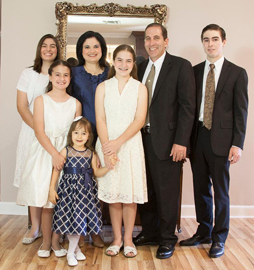 Deacon Sergio Rodicio gathers with his wife, Lenore, and children ages 21 to 7. He talked to the Florida Catholic about the joys and the challenges of the vocation of fatherhood.