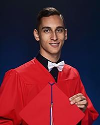 Luke Riahifar, valedictorian, Chaminade-Madonna College Prep