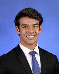 Lukas Bleichner, valedictorian, Christopher Columbus High
