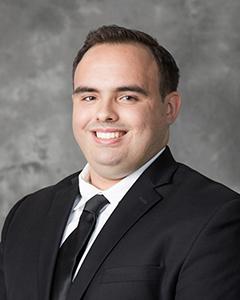 Erich De Jesus Vazquez, seminarian from St. Dominic Parish, Miami