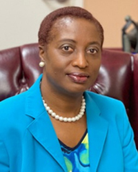 Nyce Daniel is the new principal at Holy Family School in North Miami.