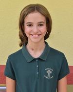 Sixth-grader Ava Paul