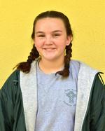 Eighth-grader Hailey Trebbien