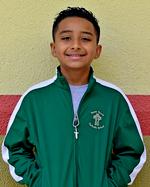 Eighth-grader Yael Saldarriaga