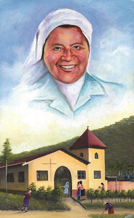 Sor Agustina Rivas de la congregación de Nuestra Señora de la Caridad del Buen Pastor.