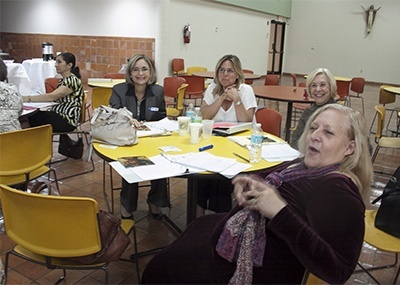 Members of the Synod focus team on Adult Faith Formation held their first meeting Nov. 13 in the archdiocesan Pastoral Center.