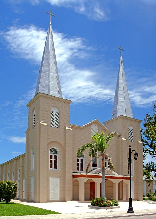 St. Mary Star of the Sea Church in Key West