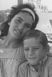 Maggie Grana Diaz with her son, Jose Manuel, shortly before her death. Her decision was the subject of her granddaughter, and Jose Manuel's daughter, Daniela Diaz's second place essay in this year's Respect Life contest.