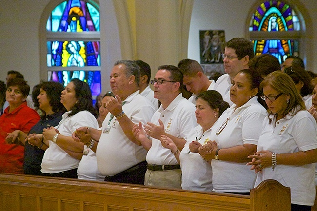 Hundreds of Emmaus brothers and sisters gathered at St. Mary Cathedral Sept. 14 for a Mass celebrating the 35th anniversary of the creation of the Emmaus retreat.
