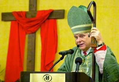 Archbishop Thomas Wenski of Miami was the main celebrant at the recent Catholic Charismatic Conference in Dania Beach.